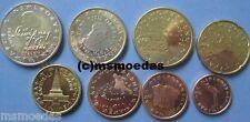 La Slovenia KMS 8 EURO MONETE 2007 da 1 cent a 2 Euro Slovenia monete metalliche in euro coins
