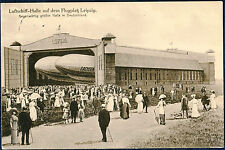 ZEPPELIN POST CARD FROM LEIPZIG, GERMANY TO LAKEWOOD, OHIO 1914 BP3164