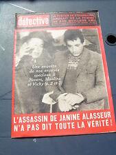 Détective 1966 1070 LONGWY LE BROC MONTMORENCY ANNONAY CHATINAIS NEVERS