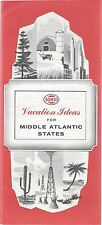 1959 SOHIO-Vacation Ideas for Middle East States: Delaware/Maryland/Virginia