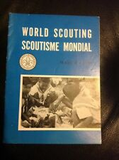 World Scouting Volume 6 No 3 March 1960 Vintage Scout International Booklet