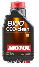 Aceite Motor Motul 8100 Eco-Clean 0W30 acea C2 FAP Ford Honda Suzuki, 1 Litro
