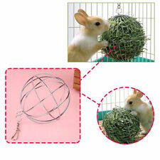 Sphere Feed Dispense Exercise Hanging Hay Ball Pet Guinea Pig Hamster Rabbit Toy