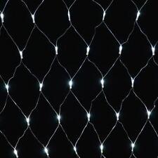360 LED NET CHASER LIGHTS XMAS MULTI EFFECT FESTIVE CHRISTMAS CURTAIN - WHITE