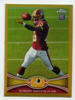 2012 Topps Chrome ROBERT GRIFFIN III Rookie Card RC GOLD REFRACTOR #/50 - #200