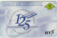 BT Private 379 London & Manchester group, 125 years, mint phonecard Cat £40