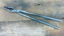 Blacksmith Wolf Jaw Tongs for forge anvil vise hammer and hardy tools