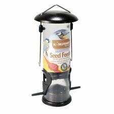 Hanging Wild Bird Seed Feeder Nut Fat Ball Garden Feeding Station Plastic Perch