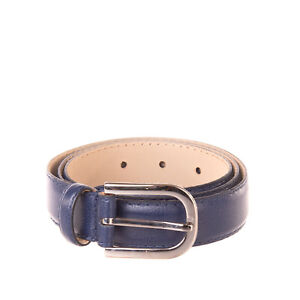 RRP €140 ARMANI COLLEZIONI Grainy Leather Belt Size 40/S 75/30 Made in Italy