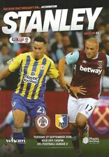 Away Teams L-N Mansfield Town League Two Football Programmes