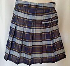 French Toast Plaid Adjustable waist Uniform Skort Skirt Size 12   $28.00