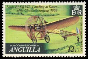 "ANGUILLA 356 (SG366) - Aviation History ""Louis Bleriot Flyer"" (pb13211)"