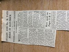 75-5 ephemera article 1965 richard tate chris collins horse racing