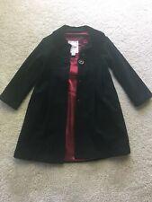 Gap Original Garment Girls Small 6-7 Black Dress Coat