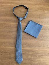 Boys  Formal Tie And Handkerchief Set