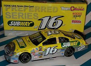Team Caliber NASCAR.Greg Biffle #16 Subway-National Guard  2006 Ford Fusion 1:24
