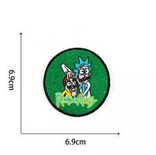 Rick and morty patch