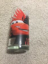 Disney Pixar Cars 2 Drinking Glass Cup Genuine Licensed Lightning McQueen