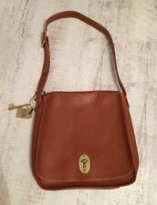 Fossil Austin Flap Saddle Bag ( Tan ) - New With Tags