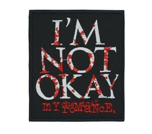 My Chemical Romance I'm Not Okay Patch Punk Hard Rock Band
