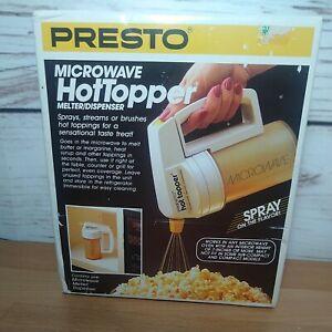 Presto Hot Topper Microwave Popcorn Butter Melter Dispenser 03050
