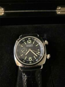 Panerai Radiomir GMT - PAM 184 - 42mm - Automatic - JLC Movement -Mint Condition