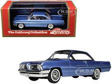1961 PONTIAC CATALINA BLUE MET. LTD 220 PCS 1/43 BY GOLDVARG COLLECTION GC-017 A