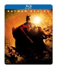 BATMAN BEGINS BLU-RAY STEELBOOK SEALED DC MOVIE
