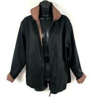 Mycra Pac Now S Rain jacket coat Bomber Bronze Black Reversible Zip Packable