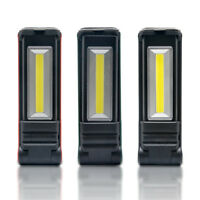 LED COB Torch Flexible Inspection Lamp Cordless Work Light Rechargeable
