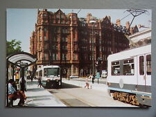 R&L Postcard: Pike Cards, St Peters Square, Hotels, Tram, Metrolink