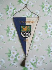 Alter Fussball Wimpel, .. TSV Wettmar ( Burgwedel/ Hannover ) von 1912
