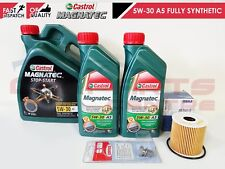 FOR FORD KUGA 2.0 TDCi 163BHP 2010- MAHLE OIL FILTER CASTROL FLUID SUMP PLUG