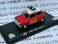 DP7T VOITURE 1/43 DEL PRADO : Mini Cooper S 1967 rallye monte carlo