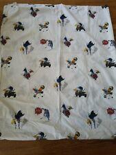 POTTERY BARN KIDS BATMAN ROBIN POW TWIN TOP FLAT  BED SHEET BATMAN ACTION