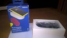 Carica batteria wireless Nokia modello DT 900 colore NERO con Box. Come nuovo.