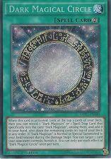YU-GI-OH CARD: DARK MAGIC CIRCLE - SECRET RARE - MP17-EN100 1ST EDITION