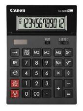 Canon As-2200 Calculatrice de bureau 12 chiffres Design