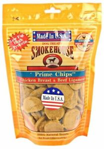 LM Smokehouse Treats Prime Chicken & Beef Chips 8 oz