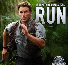 Jurassic World Chris Pratt Owen Grady Leather Vest - BNWT