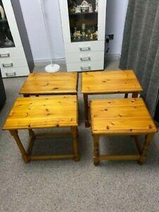 Pine side or bedside  tables
