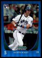 2011 Bowman Chrome Blue Refractor Dustin Ackley #/150 #212