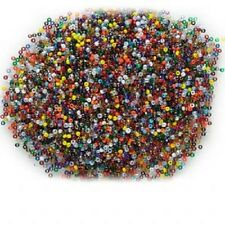 1050AS Seed Bead Mix Color Glass 1.8 to 2mm Round Rondelle 10 grams 1000 Qty