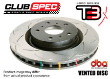 DBA 4000 T3 SLOTTED DISC ROTOR FIT Subaru WRX OUTBACK LIBERTY 1999-08 dba4650S