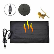 Reptile Heating Pad Pet Heat Mat Warming Waterproof Heater Temperature Carbon