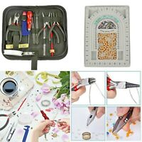 Jewelry Making Repair Supplies Kit with Tools Beading Board and Jewelry Finding