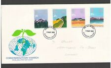 UNITED KINGDOM: #25 - FDC / COMMONWEALTH DAY  / Fine Used-Offered AS IS.