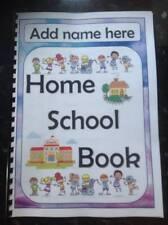 home school book behaviour mood feelings record autism ASD SEN ADHD BESD