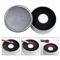 Pro Makeup Brush Sponge Cleaner Color Remover Switch Eye Shadow Dry Cleaning Box