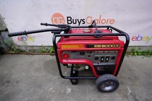Honda EB5000X 5000 watts Generator 120/240 volts  Runs Fine